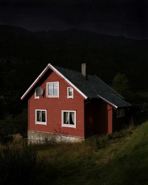 , 'Red House,' 2014, Borderline Art Space