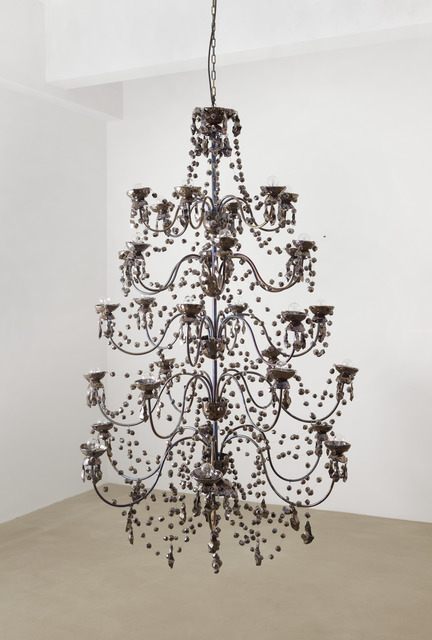 , '5 Tier Chandelier (Petrol Variation),' , kaufmann repetto
