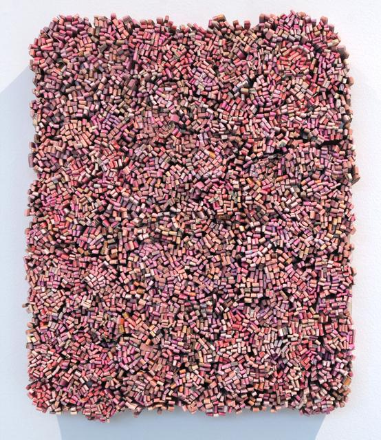 , 'Shrug (pink),' 2018, John Davis Gallery
