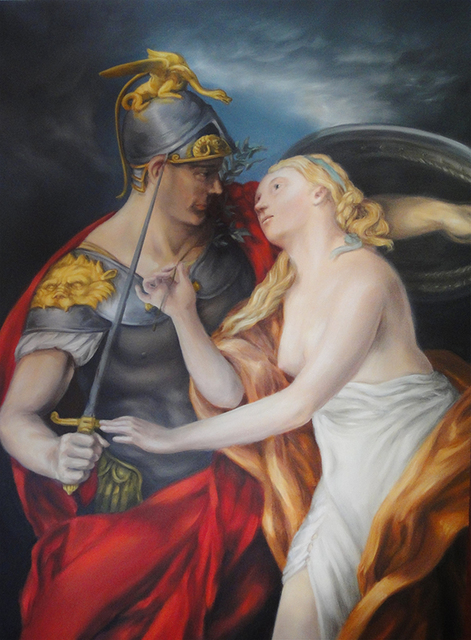 , 'The Allegory of Love and War,' 2015, Linda Warren Projects