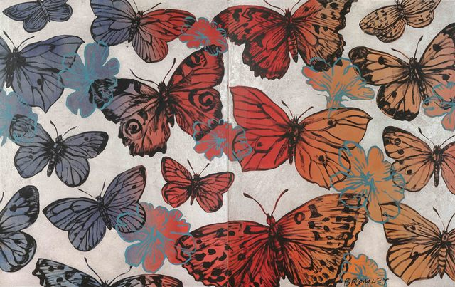 , 'Changing Butterflies (Diptych),' 2015, Caldwell Snyder Gallery