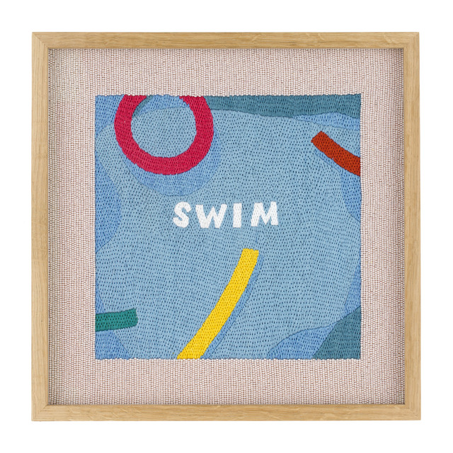 , 'Swim (Holiday),' 2018, Rebecca Hossack Art Gallery