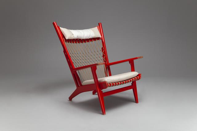 Hans Jørgensen Wegner, 'Rare 'Web' Armchair, model no. JH-719', ca. 1968, Jacksons