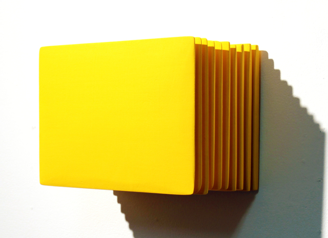 , 'The Layer of Self_gfm1 Yellow,' 2015, Gallery LVS
