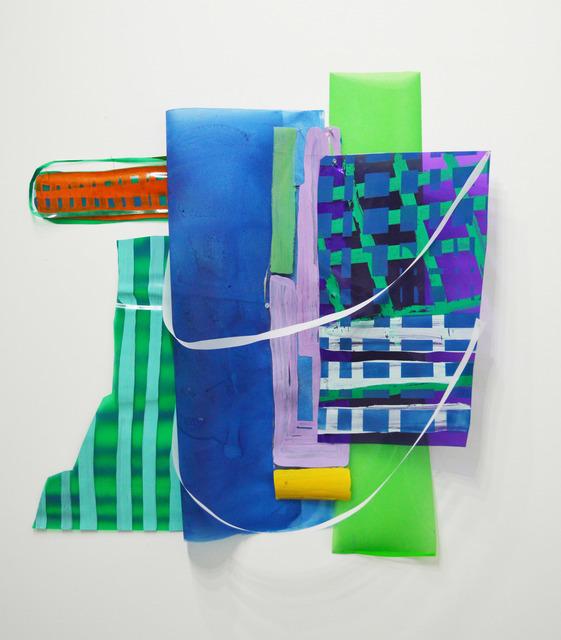 Ivelisse Jiménez, 'Else-were #5 (cosas transparentes con verde y azul)', 2015, Diana Lowenstein Gallery