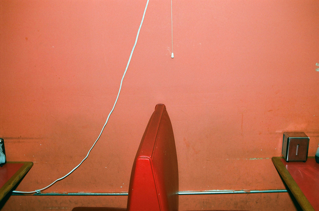 , 'Untitled (Red Leather Booth),' 2013, Cob