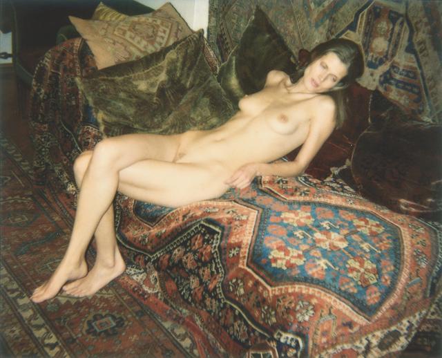, 'Nackt auf Sigmund Freuds Couch,' 2006, Christine König Galerie