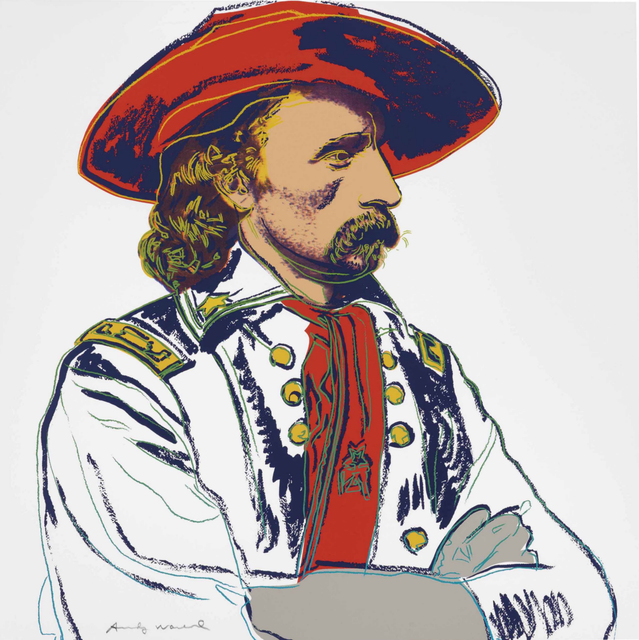 Andy Warhol, 'General Custer, from Cowboys and Indians', 1986, Zeit Contemporary Art