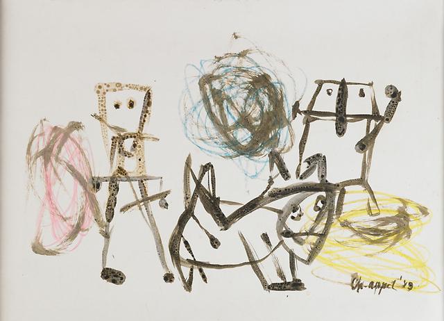 Karel Appel, 'Untitled', 1948, Rago/Wright