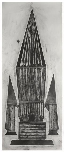 , 'edged more and more with brassy thunderlight V,' 2019, VILTIN Gallery