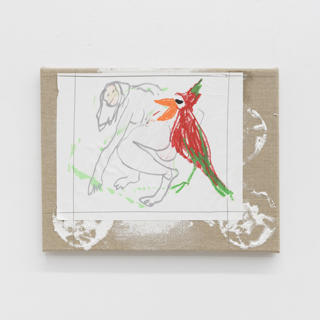 Daniel Boccato, 'parrotpainting', 2017, The Kitchen