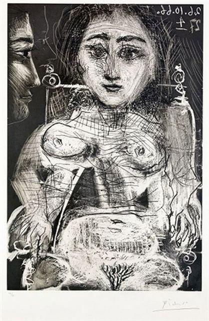 Pablo Picasso, 'Portrait de Jacqueline au Fauteuil', 1966, Redfern Gallery Ltd.