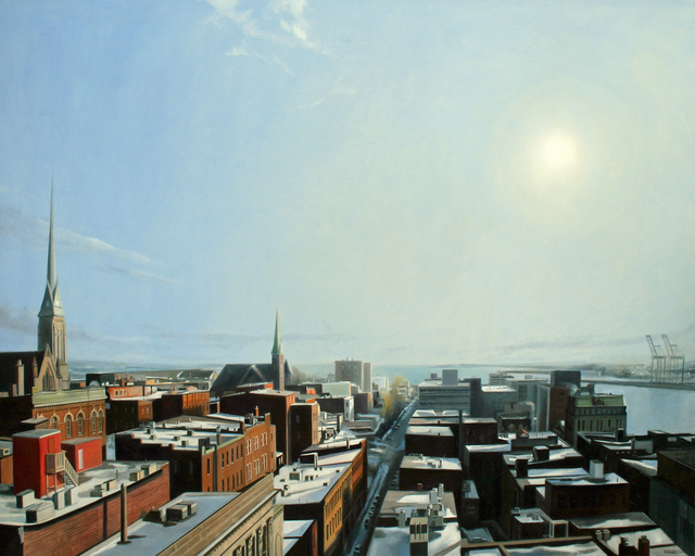 Cliff Turner, 'Roof Tops South', 2019, Gallery 78