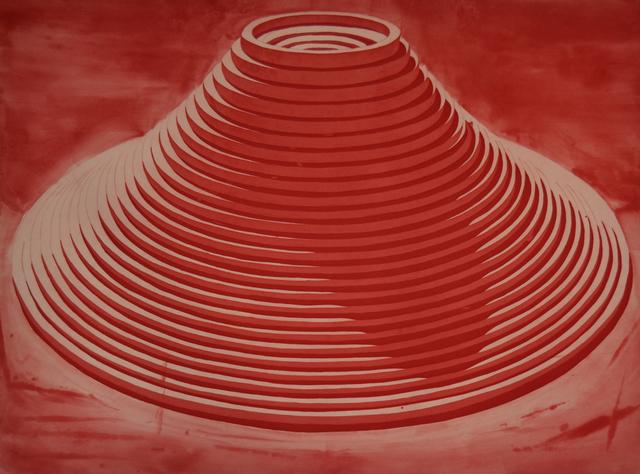 , 'Vulcano 2,' 2016, Galería La Caja Negra