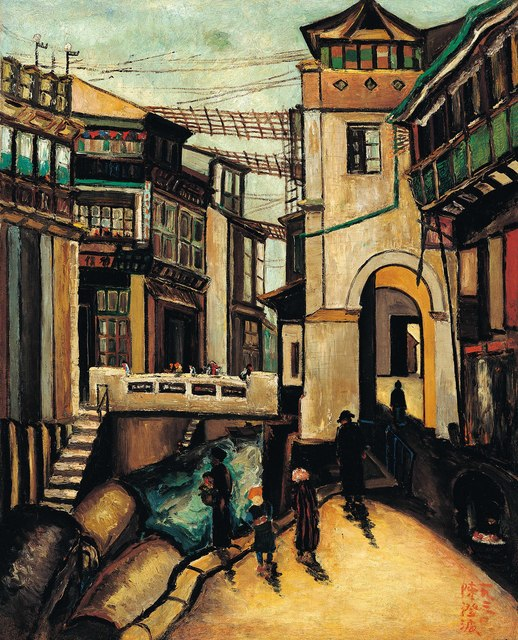 , 'Footbridge in Shanghai,' 1930, Liang Gallery