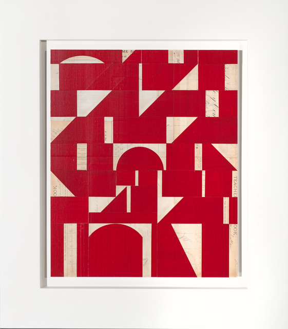 , 'Invisible Cities XXII (red),' 2015, Bentley Gallery