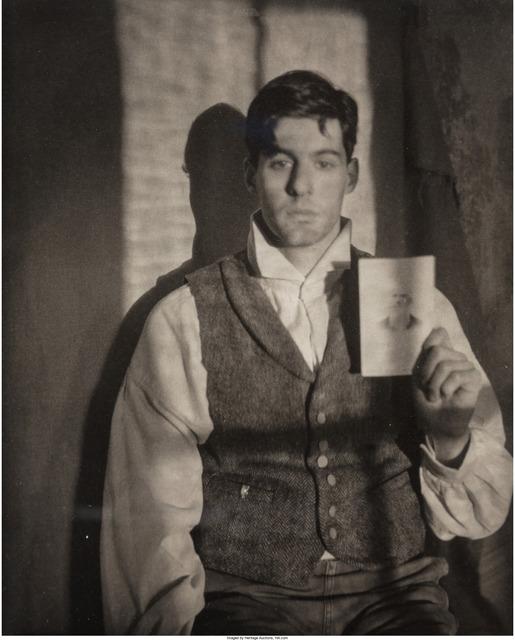 John Dugdale, 'Self-Portrait with Ancestor', 1990, Heritage Auctions
