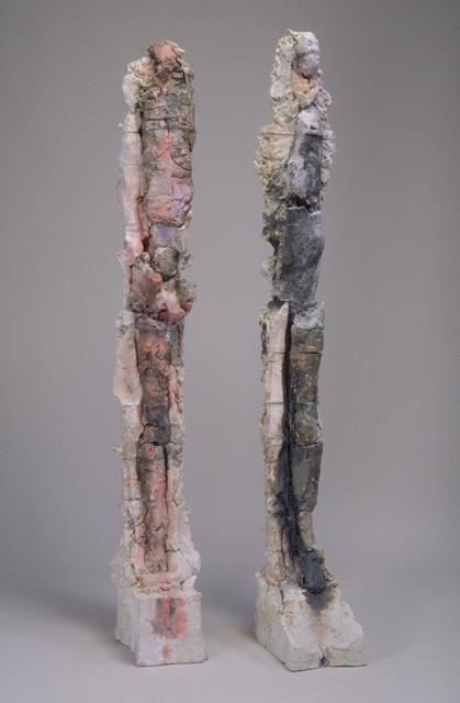 , 'Figure Column XIV & Figure Column XV,' 2002, Dolby Chadwick Gallery