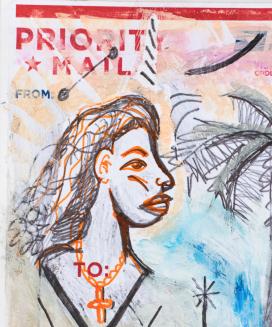 Felix Francisco Quintana, 'El Icono de Los Angeles', 2017, The Dot Project