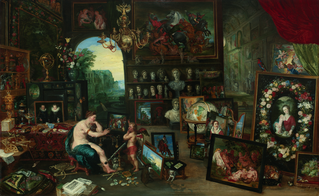 , 'The Five Senses: Sight,' 1625, Seattle Art Museum