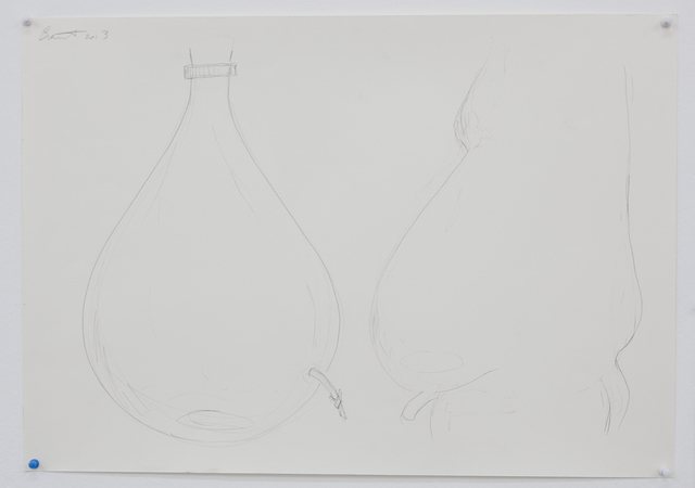 , 'Untitled (Bottle/Belly),' 2013, Galerie Parisa Kind