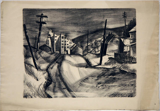 , 'A Grey Day,' , David Richard Gallery