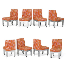 Set of eight dining chairs, New Hope, PA