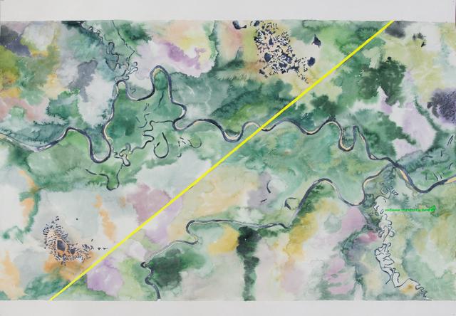 , 'Map #3,' 2017, SABSAY