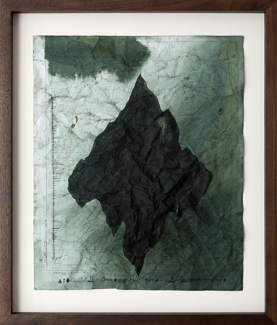 , 'No Land Map #8,' 2016, Zemack Contemporary Art