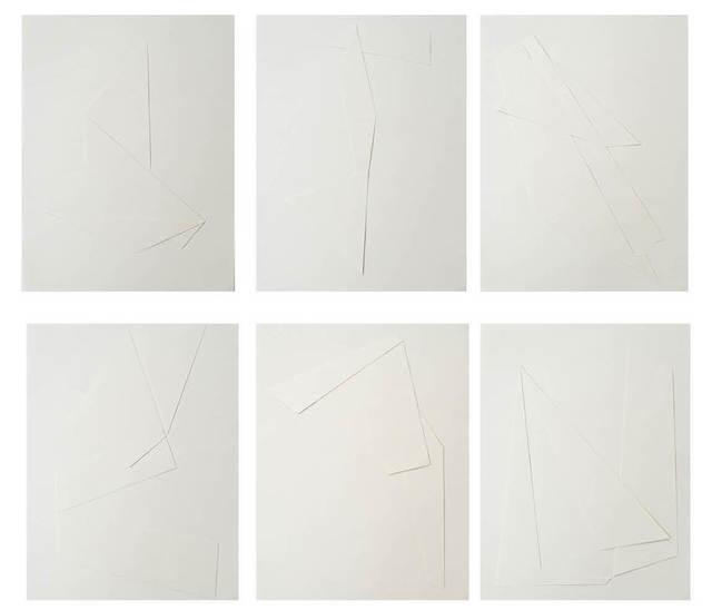 , 'Línea y sombra (1-6),' 2014, MARSO