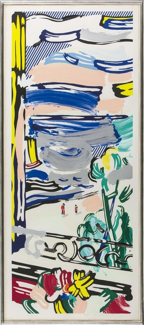 Roy Lichtenstein, 'View from the Window', 1985, Kings Wood Art