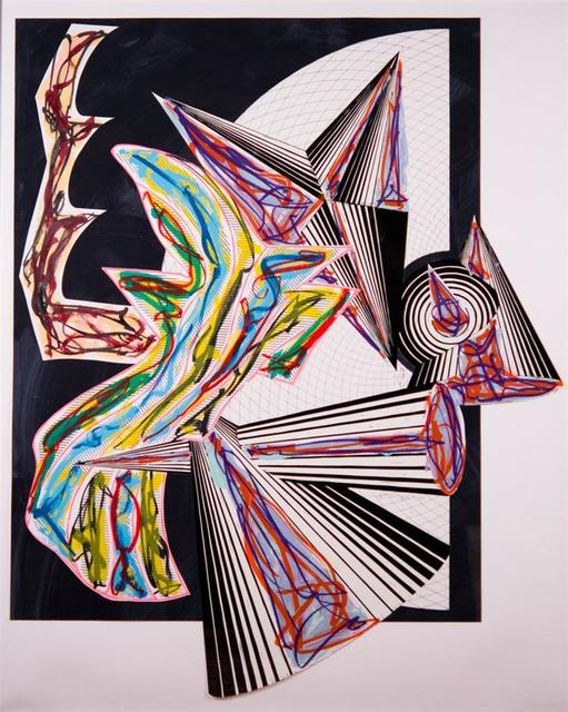 Frank Stella, 'Then Came Death and Took the Butcher', 1982-1984, Kenneth A. Friedman & Co.