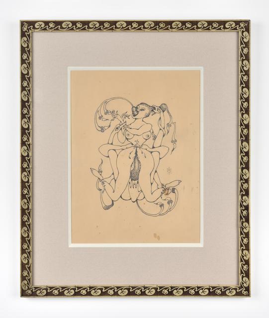 , 'Etude pour l'empalée,' 1973, Galerie Christophe Gaillard