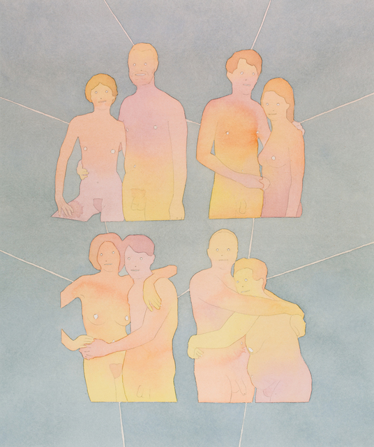 , 'Four Couples,' 2012, FMLY
