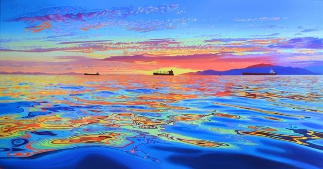 Valerie Raynard, 'Three Ships', 2019, Kurbatoff Gallery