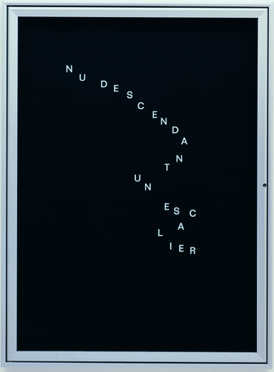 , 'Untitled (Nu descendant...),' 2005-2006, Vistamare