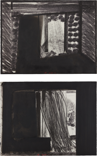 Howard Hodgkin, 'Early Evening in the Museum of Modern Art; and All Alone in the Museum of Modern Art, from In the Museum of Modern Art', 1979, Phillips