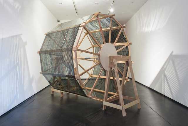 , 'Film Drying Wheel,' 2015, Christine Park Gallery