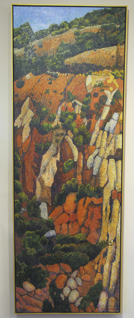 , 'Red Hillside,' 2013, Glenn Green Galleries