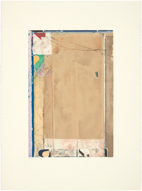 Richard Diebenkorn, 'TOUCHED RED', 1991, Greg Kucera Gallery