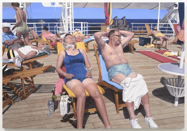 , 'Kodachrome Makes Your Sunburn Shine,' 2017, Lora Schlesinger Gallery
