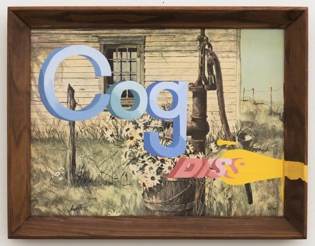 , 'Cog Diss,' 2015, Joshua Liner Gallery