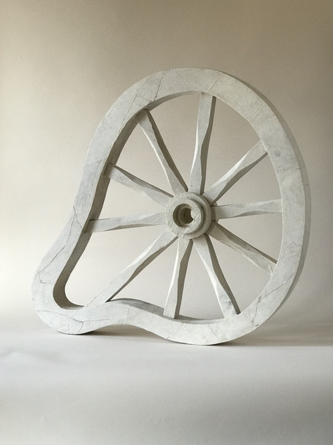 , 'Whimsical Wooden Sculpture: 'Wheel',' 2018, Ivy Brown Gallery