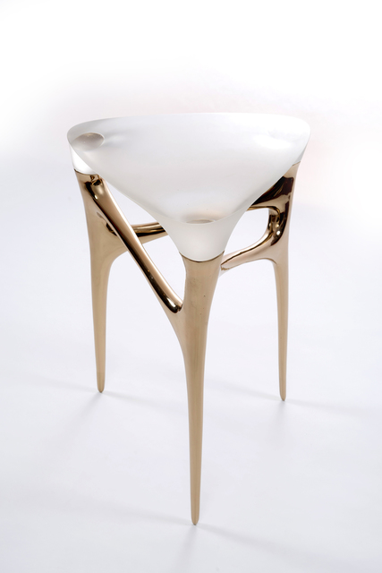 , 'Methodology Table (Bronze/Glass),' 2017, Wexler Gallery