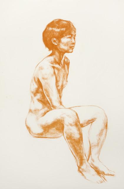 , 'Untitled Nude,' 2015, Flowers