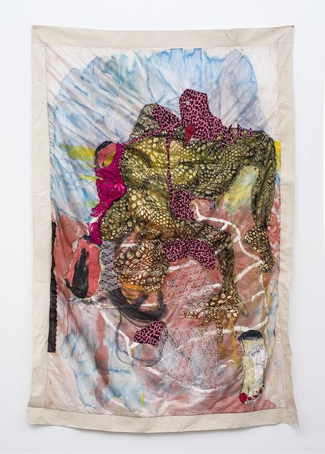 , 'Unreachable Parts Painted Gold,' 2018, SMAC