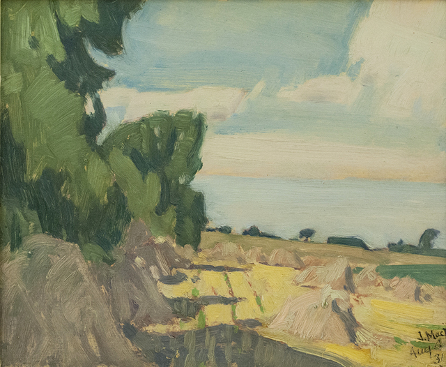 , 'Wheatfield, Thornhill,' , Canadian Fine Arts