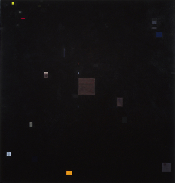, 'The Universe is a square,' 1996, C. Grimaldis Gallery