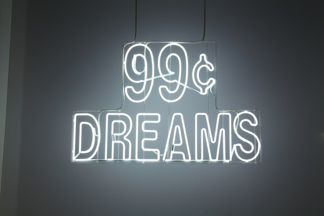 , '99¢ dreams,' 2007, MOCA, Los Angeles