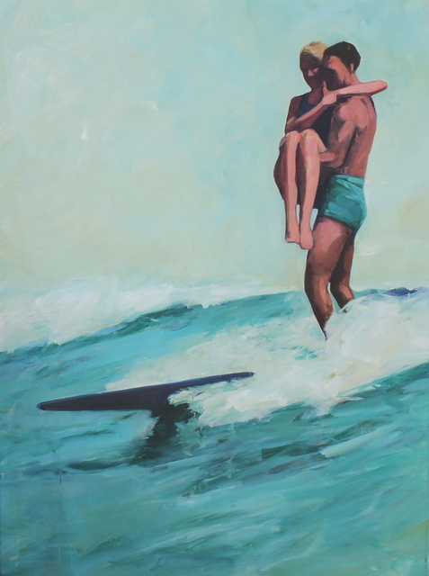 , 'Tandem Surfers,' 2013, Quidley & Company